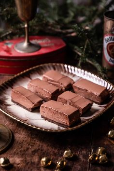Holiday Baking   Chocolate Peppermint Mousse Bars — Rose & Ivy Layered Desserts, Holiday Desserts, Holiday Baking, Holiday Recipes, Christmas Recipes, Baking Chocolate, Chocolate Cookies, Shortbread Crust, Melted Butter