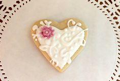 Heart Wedding Cookies
