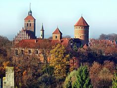 Reszel in northern Poland. The pearl of gothic architecture.