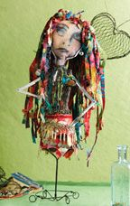 Mixed Media Art Doll