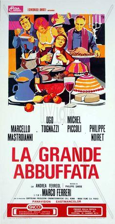 La grande abbuffata, 1973.