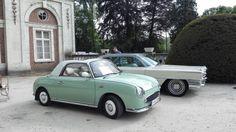 Nissan Figaro in Hélécine Castle (Belgium)