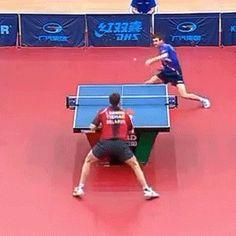 backshot au ping-pong par Quentin Robinot [video] [gif]