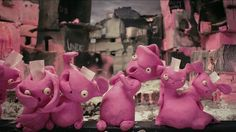 http://rabbitland.info https://www.facebook.com/rabbitlandfilm Brainless Rabbits live in Rabittland, a perfect world ordered according to the most successful examples of war zones, ghettos and slums. They are intensively pink, have holes in their heads instead of brains, and they are happy regardless of what happens to them. They are the highest stage the evolution has ever reached. Their everyday life is completely fulfilled. The Rabbits spend days voting on free and democratic…
