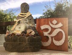 "Cuadro String Art ""Om"" #hilorama #clavos #hilos #nails #wood #homemade #diy #manualidades #stringart #fils #madera #string #hechoamano #manualitats #tibetan #om #decoracion #decoration #decoracio #claus"