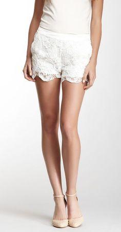 Crochet Lace Short