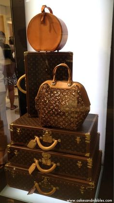 Louis Vuitton luggage ~Live The Good Life - All about Wealth & Luxury Lifestyle