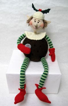 Plum Pudding Pixie by Alan Dart - for purchase.