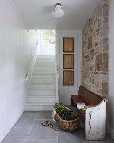 Rue (@ruemagazine) • Instagram photos and videos Interior Stairs, Interior Trim, Interior Design, Casas En Atlanta, Window Mirror Decor, Stand Alone Tub, Diy Home Accessories, Winter Accessories, Ivy House
