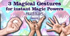 3 Mudras for Magic and Power. How to use simple hand gestures to bring you power, enlightenment, banish negativity and attract money! Chakra Meditation, Kundalini Yoga, Hand Mudras, Switch Words, Wealth Affirmations, Chakra Affirmations, Magic Hands, Think And Grow Rich, Acupressure Points