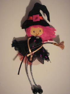 Bruja Rosa de fietro Littlechicthings