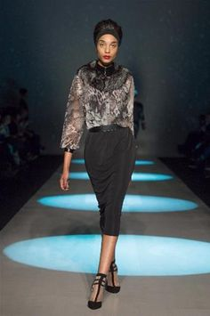 Toronto Fashion Week: MIZ by Izzy Camilleri (© George Pimentel/Getty Images for IMG)