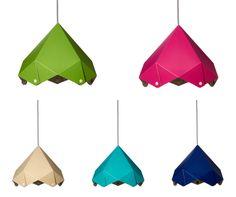 colorful lamps designer: Franta Ági