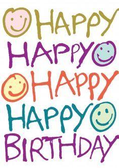 Happy Happy Happy Happy Birthday
