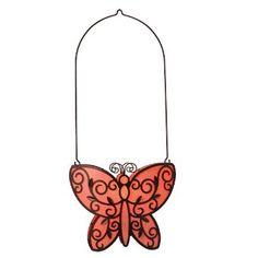 Butterfly Friends Hanging Votive Holder
