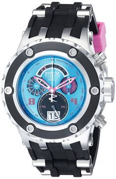 Invicta Men's 16252 Subaqua Analog Display Swiss Quartz Black Watch *** Details can be found by clicking on the image.