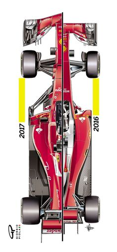 Ferrari's boasts a feature quite revolutionary in terms of how it interprets the regulations regarding the car's mandatory side impact structures - and it has significant performance implications too. Formula Drift, Formula 1 Car, Ferrari F1, Rally Car, Car Car, Grand Prix, Shanghai, Gp F1, F1 2017