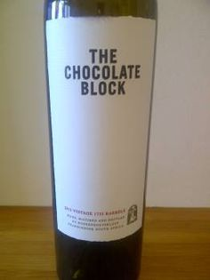 """The Chocolate Block 2012 """"As ever with The Chocolate Block from Boekenhoutskloof, there's nothing not to like about the 2012 vintage."""""""