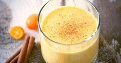 Batido de cúrcuma, jengibre y aceite de coco para perder peso