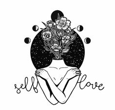 Self love art draw 39 ideas Art Sketches, Art Drawings, Drawing Quotes, Life Drawing, Broken Drawings, Art Quotes, Art Amour, Tattoo Trend, Home Tattoo