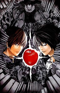 Death Note #deathnote #l #Kira #DN #animelovers