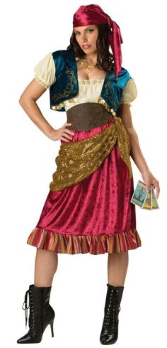 GYPSY  sc 1 st  Pinterest & Hereu0027s a DIY homemade gypsy costume. | Homemade Easy Renaissance ...