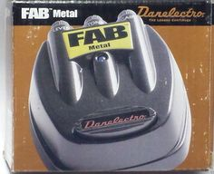 Danelectro D-3 Fab Metal Distortion Guitar Effect Pedal New Unused Box Imperfect #Danelectro