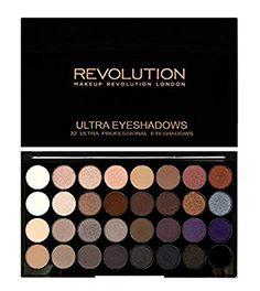MAKEUP REVOLUTION Ultra 32 Shade Eyeshadow Palette Affirmation, 20 g: Amazon.de: Beauty