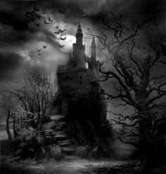 A Haunted Castle halloween haunted halloween pictures halloween images halloween ideas haunted castle