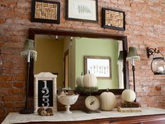 18 Ways to Add Harvest Decor to Your Home : Decorating : Home & Garden Television