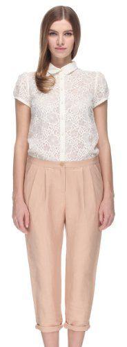 Fashion Bug Embroidery Stitching Harem Jumpsuit Long Pants (Five Plus) www.fashionbug.us