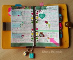 She's Eclectic: My week in my filofax #46