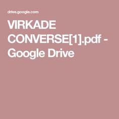 VIRKADE CONVERSE[1].pdf - Google Drive