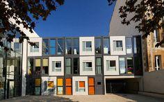 Algeco France   ecological modular prefab building for schools