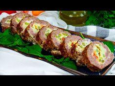 Te lingi pe degete! Rulada cu carne o pregatesc doar dupa aceasta reteta | SavurosTV - YouTube Carne Picada, Antipasto, Nachos, Meatloaf, Food Hacks, Cookie Recipes, Appetizers, Beef, Cooking