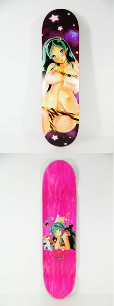 "8.25/"" Hook Ups Skateboard Deck Wet School Girl Assorted"