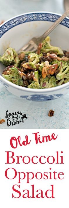 This simple and delicious recipe is straight from grandma's cookbook. All the great taste and very little work! Broccoli, BACON, raisins, pecans and a tasty sweet and sour dressing. Easy and Simple. Salad made easy
