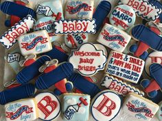 Baby Boy aviation cookie set by Penny White