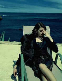 Antonia Wesseloh photographed by Jacques Olivar for Marie Claire Italia October 2013.