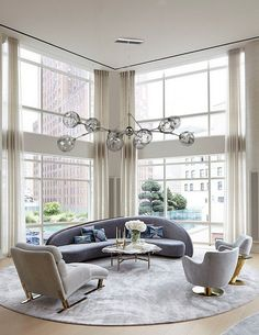Magro 12 Light Chandelier by American Brass and Crystal Luxury Living Room, Furniture Design Living Room, Contemporary Interior Design, Sofa Design, Modern Sofa Designs, Room Furniture Design, Interior Design, Luxury Home Decor, Furniture Design