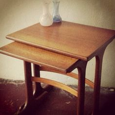G Plan Nest of Two Occasional Tables. by HoveVintage on Etsy, £60.00
