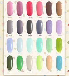 $5.82 1pc 6ML【CHE GEL】Drawing Color Gel Soak Off Gel UV/LED Gel Nail Art D073-D096 - BornPrettyStore.com
