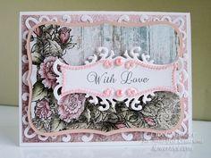 Vintage Floret With Love by Cibele Glazer