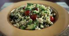 Serve a cool rice salad for your Labor Day party