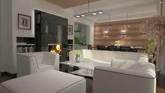 Kuchnia połączona z salonem Kitchen Design and living room Meble kuchenne