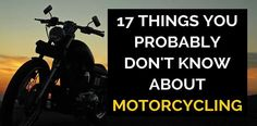 Motorcycling is one of the most exciting hobbies that a person can have. It brings speed, excitement and most of all, fulfillment to my life and your life.