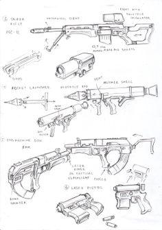 UC weapons 2 by TugoDoomER