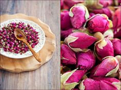 I am addicted to rose bud tea. Just add a little honey...heavenly bliss.