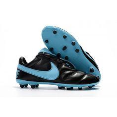 first rate 6ed15 d2749 Chaussure De Sport Nike Premier II 2.0 FG Noir Bleu soldes