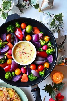 一度で二度美味しい!? 温焼きカラフル野菜とパルミジャーノバーニャカウダ スパイス大使|レシピブログ